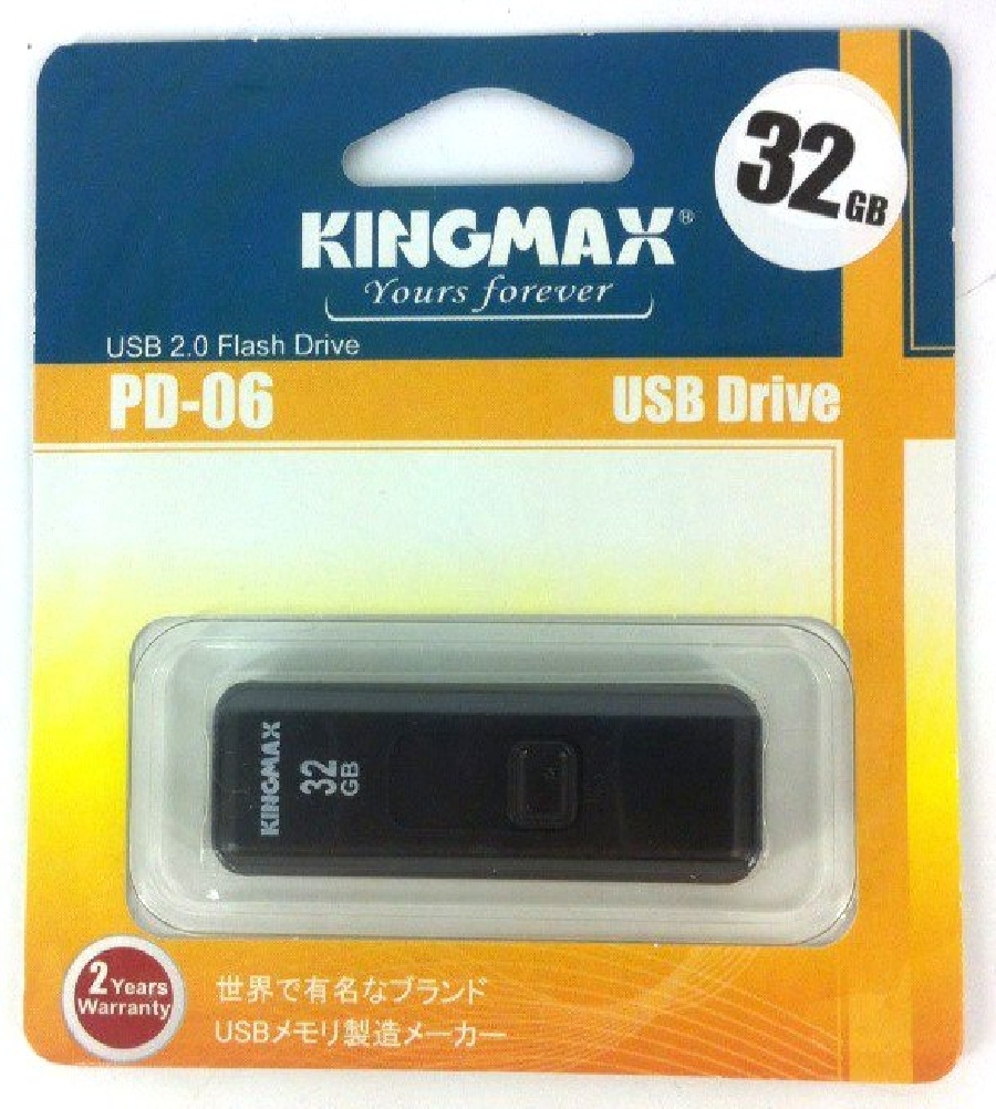 Flash Drive 32GB Kingmax PD-06 black
