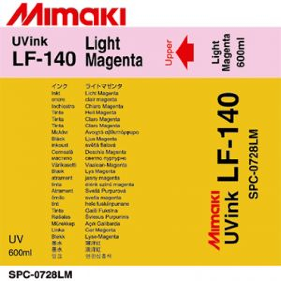 УФ чернила Mimaki LF-140 UV LED,600мл,Light Magenta