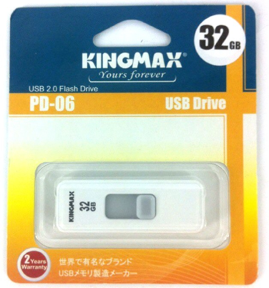 Flash Drive 32GB Kingmax PD-06 white