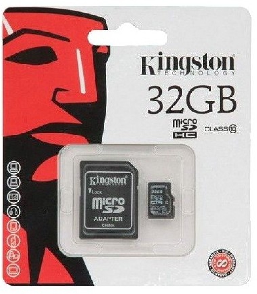 Micro SDHC 32 GB Kingston Class10
