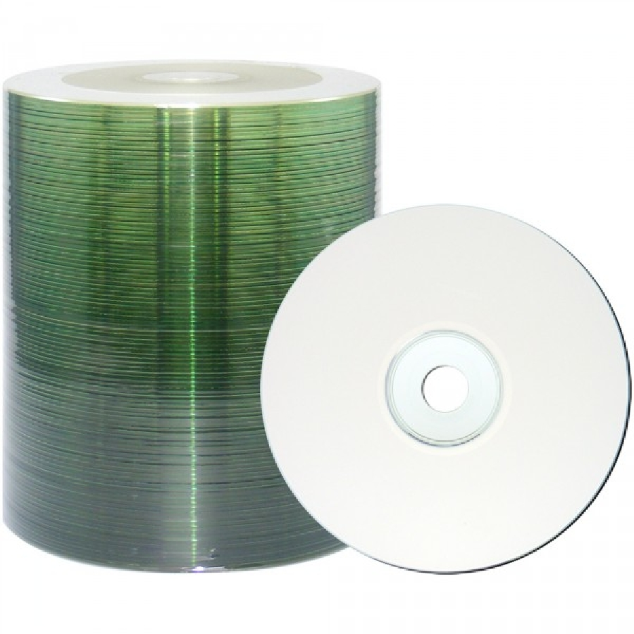 DVD+R (100) 4.7GB Intro 16x Bulk Printable