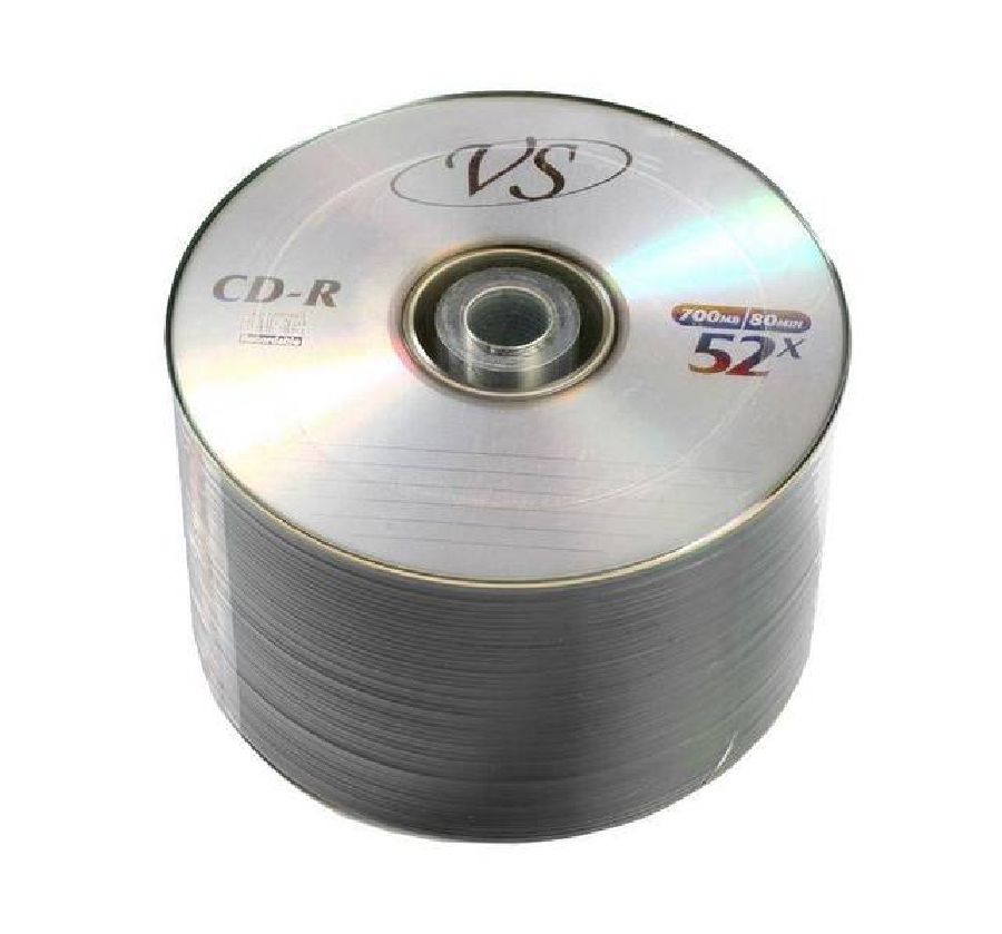 CD-R  (50) VS 52x 700mb Bulk