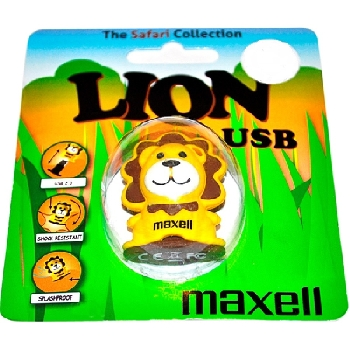 Flash Drive 8GB Maxell Animal collection lion