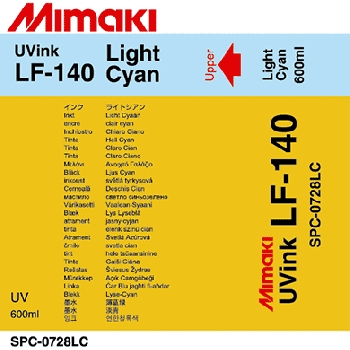 УФ чернила Mimaki LF-140 UV LED, 600мл, Light Cyan