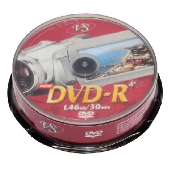 mini DVD-R 1.4GB VS Case 10
