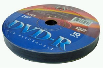 DVD-R  (10) 4.7GB VS 16x Shrink