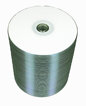 DVD+R (100) 4.7GB Mirex 16x Bulk Printable