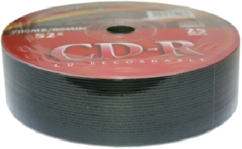 CD-R  (25) VS 52x 700mb Shrink