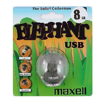 Flash Drive 8GB Maxell Animal collection elephant
